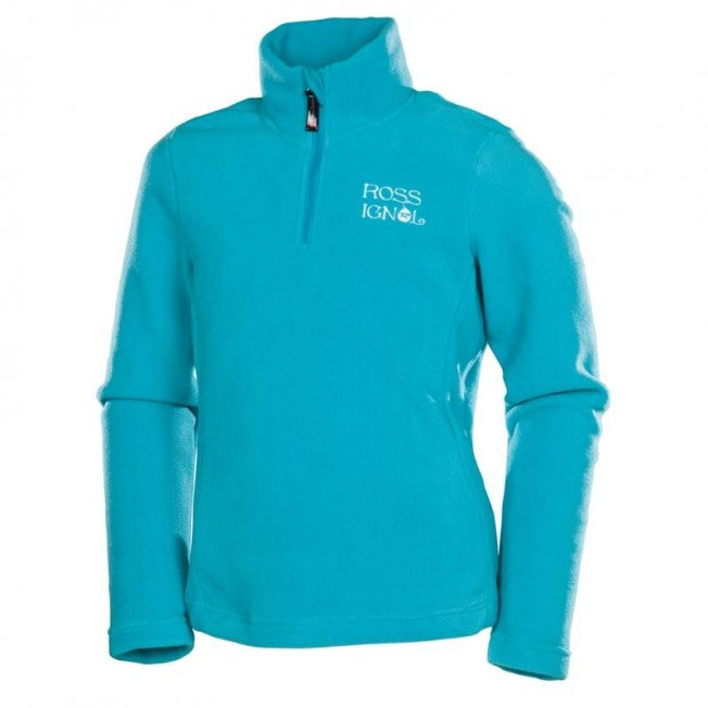 Rossignol Girl 1/2 Zip Fleece Cyan 14/15