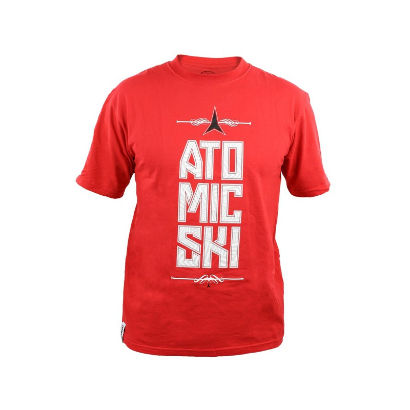 Atomic T-Shirt Star Red