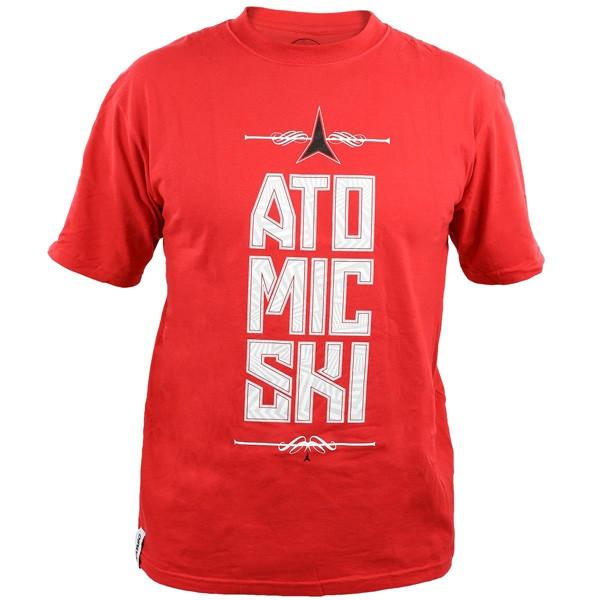 Atomic T-Shirt Star Red
