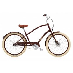 Electra Townie Balloon 3i EQ – Brown Metallic