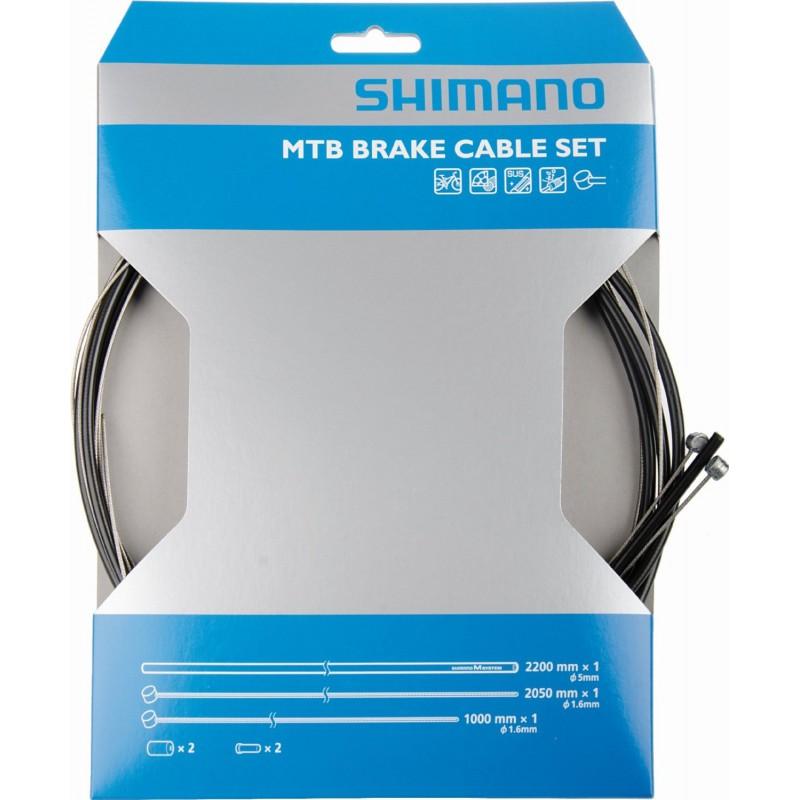 Shimano MTB Bremszugset durchgehend
