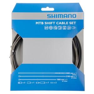 Shimano Schaltzugset PTFE SP41S linear schwarz