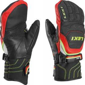 Leki Worldcup Race Flex S Junior Mitten red