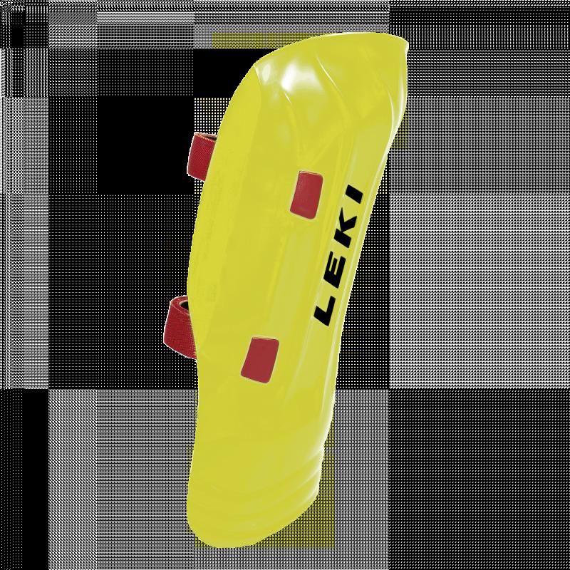 Ochraniacze Leki Shin guard Worldcup Pro Junior żółte neon yellow