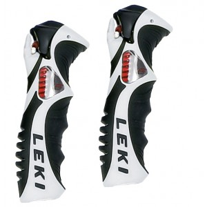 Leki Trigger S Slalom grip white black 18 mm
