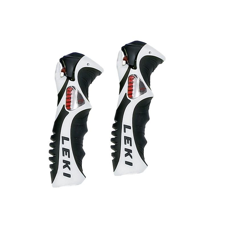 Leki Trigger S Slalom grip white black 18 mm