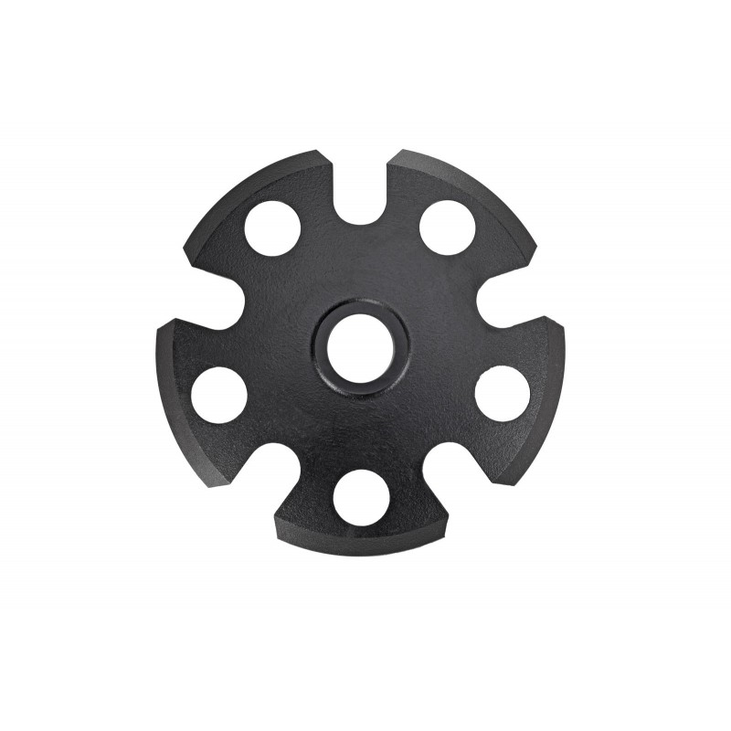 Leki Snowflake basket with thread 95 mm, black