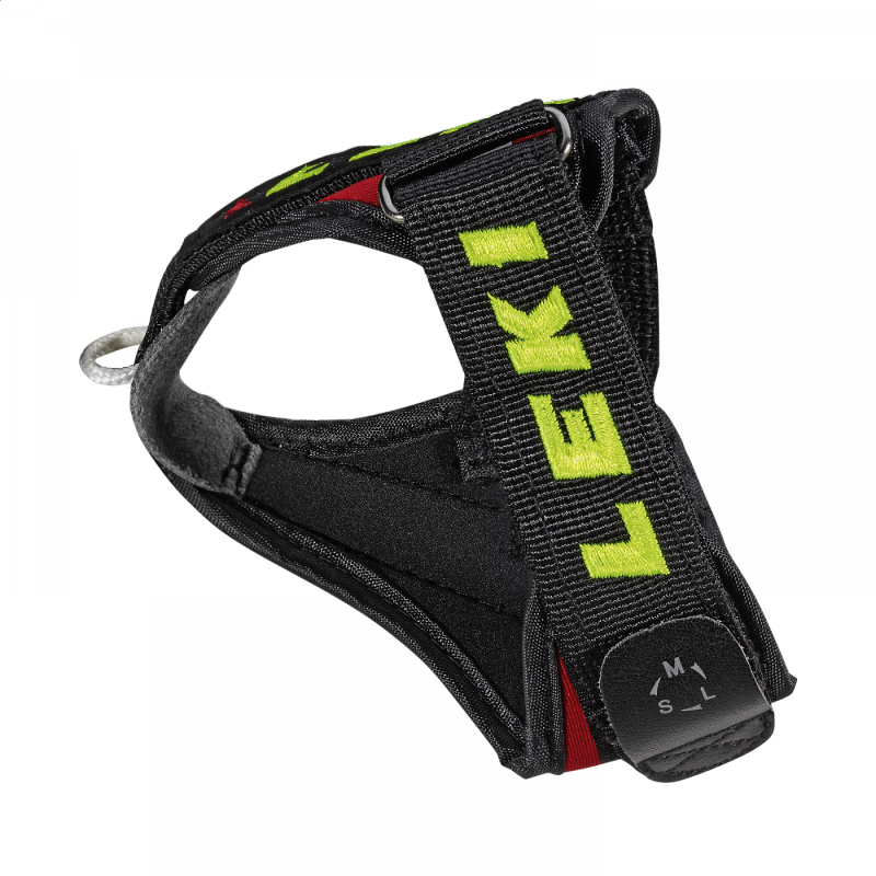 Leki Trigger 3 - Shark Strap M/L/XL red