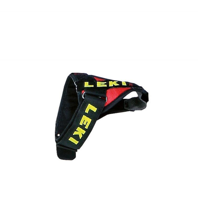 Leki Trigger S vario strap S/M/L red