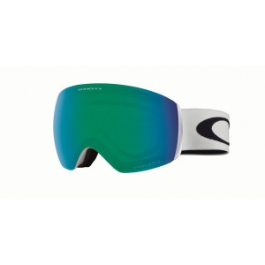 Oakley Flight Deck XM Matte White / Prizm Jade Iridium