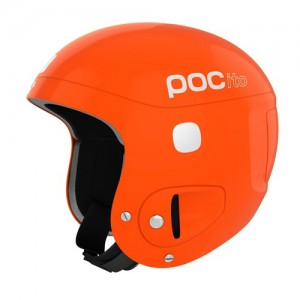 POC Kask POCito Skull Fluorescent Orange