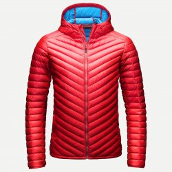 Kjus Blackcomb Hooded Down Jacket Scarlet 15/16