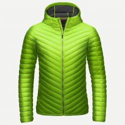 Kjus Blackcomb Hooded Down Jacket Green 15/16