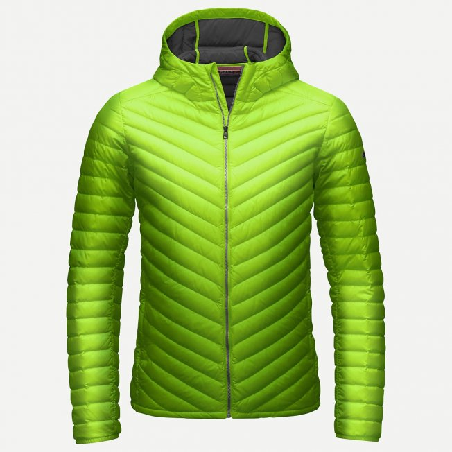 Kjus Blackcomb Hooded Down Jacket Green 15/16