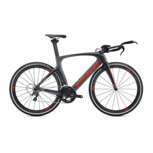 Fuji Norcom Straight 2.1 EU Satin Gray Red Orange 2016