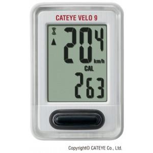 Licznik CatEye Velo 9 CC-VL820 biały