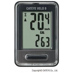 Licznik CatEye Velo 9 CC-VL820 czarny