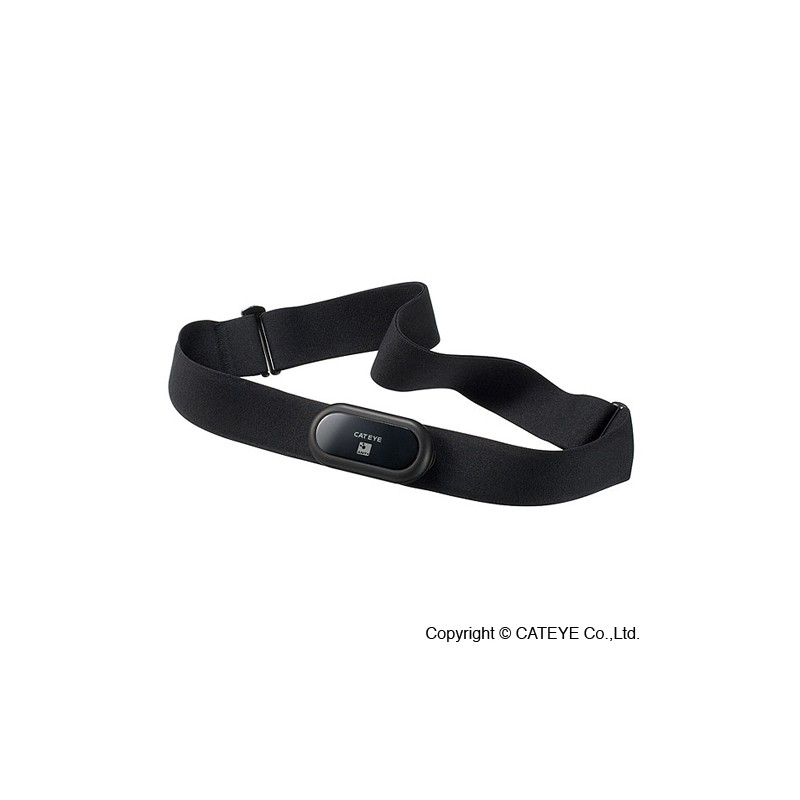 CatEye HR-11 Bicycle Computer Heart Rate Strap and Sensor Stealth 50