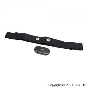 CatEye Strada Digital Wireless Bicycle Computer Heart Rate Sensor Kit - HR-10