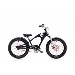 Electra Straight 8 Kid's 3i 20″ – Matte Black