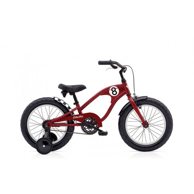 Electra Straight 8 Kid's 16″ – Red
