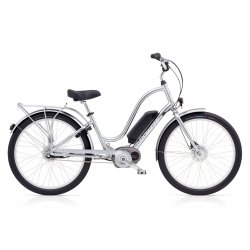 Electra Townie Go! – Polished Silver