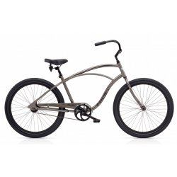 Electra Cruiser Lux 1 - Dark Grey Metallic