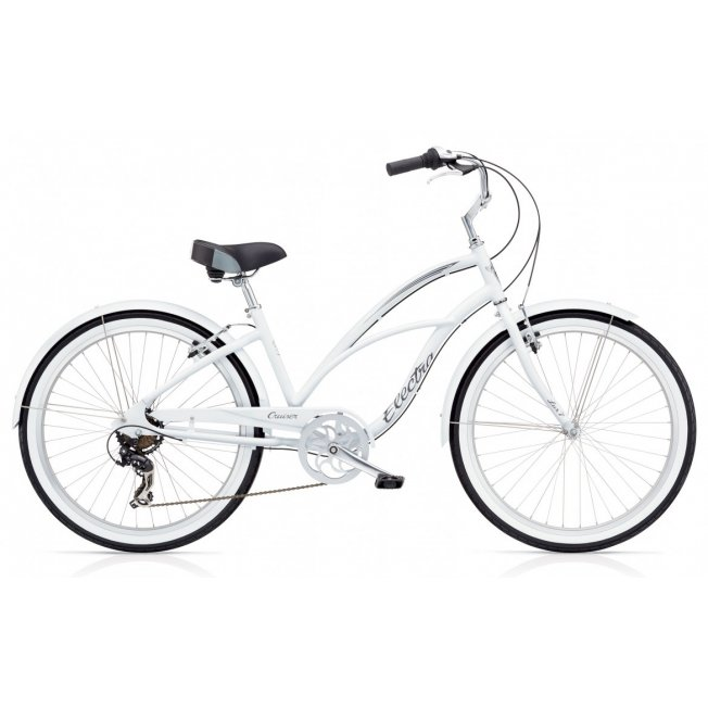 Electra Cruiser Lux 7D - White