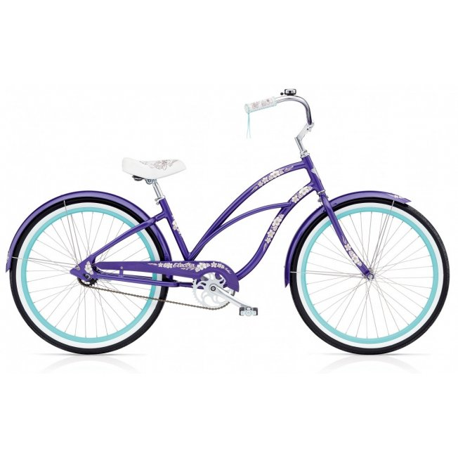 "Electra Hawaii 3i 24"" – Violett Metallic"