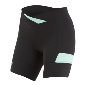 Pearl Izumi W Select Escape Texture Short Black/Aqua Mint