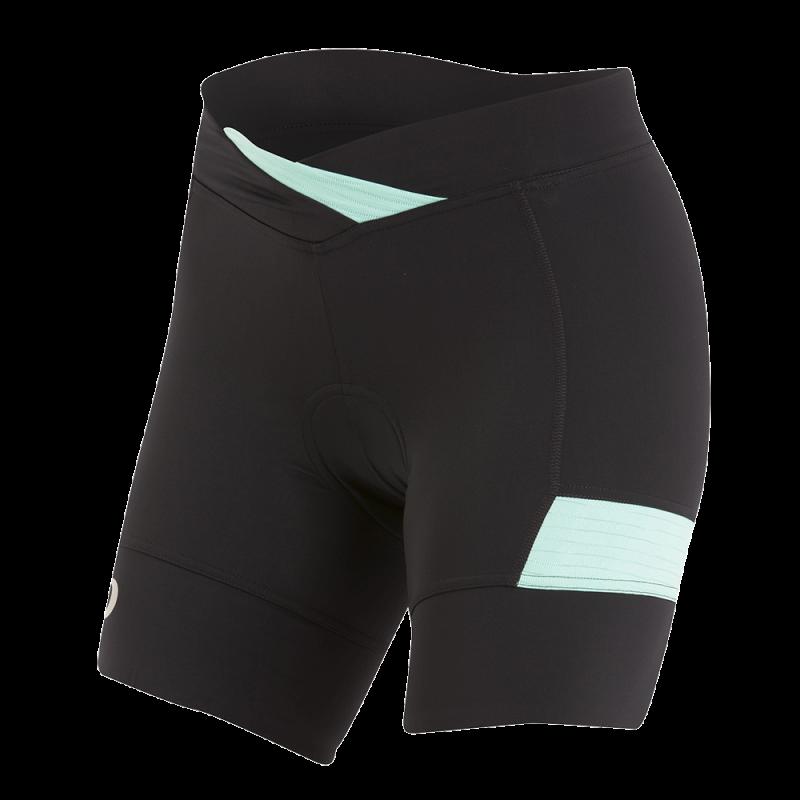 Pearl Izumi W's Select Escape Texture Short Black/Aqua Mint