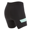 Pearl Izumi W's Select Escape Texture Short Black/Aqua Mint