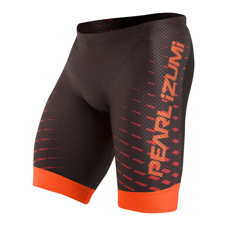 Pearl Izumi PRO InRCool Tri Short Black/Red Orange