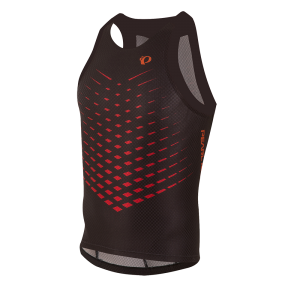Pearl Izumi PRO InRCool Tri Singlet Black/Red Orange