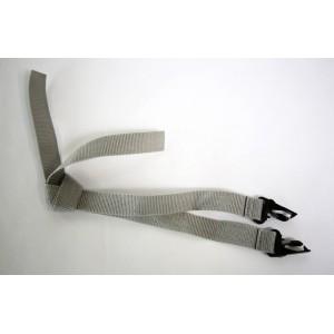 Burley Kit Shoulder Straps, Gray