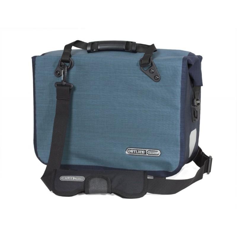 Ortlieb Office Bag Ql2.1 L Denim Steel Blue 21l