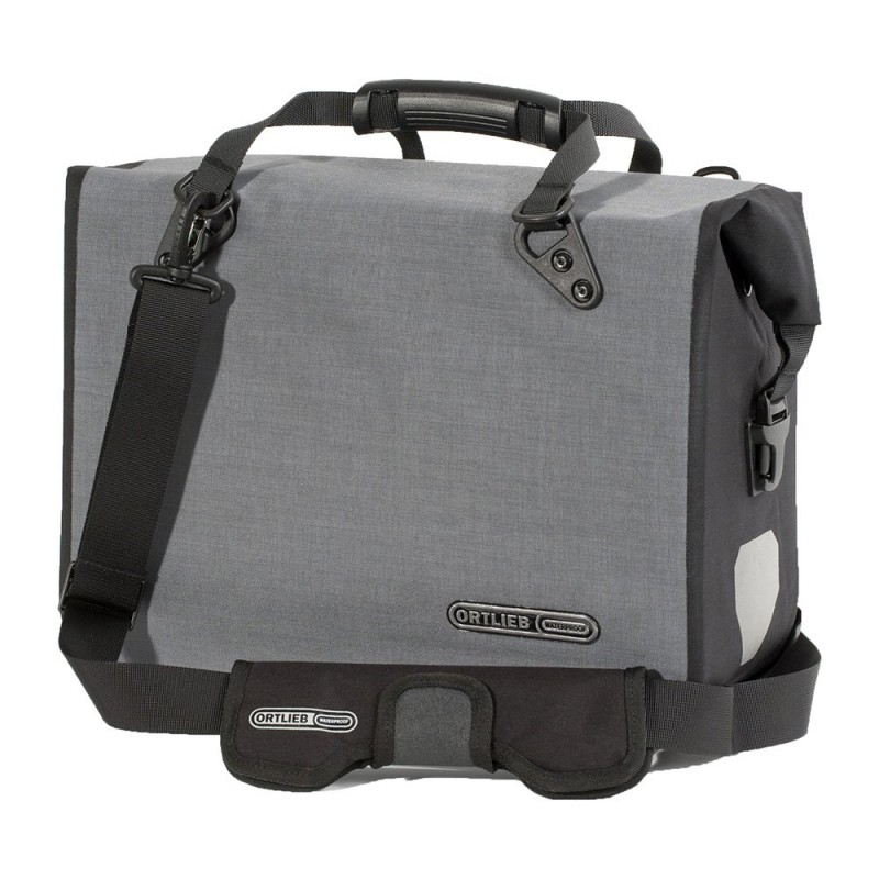 Ortlieb Office Bag Ql3 L Graphite Black 21l