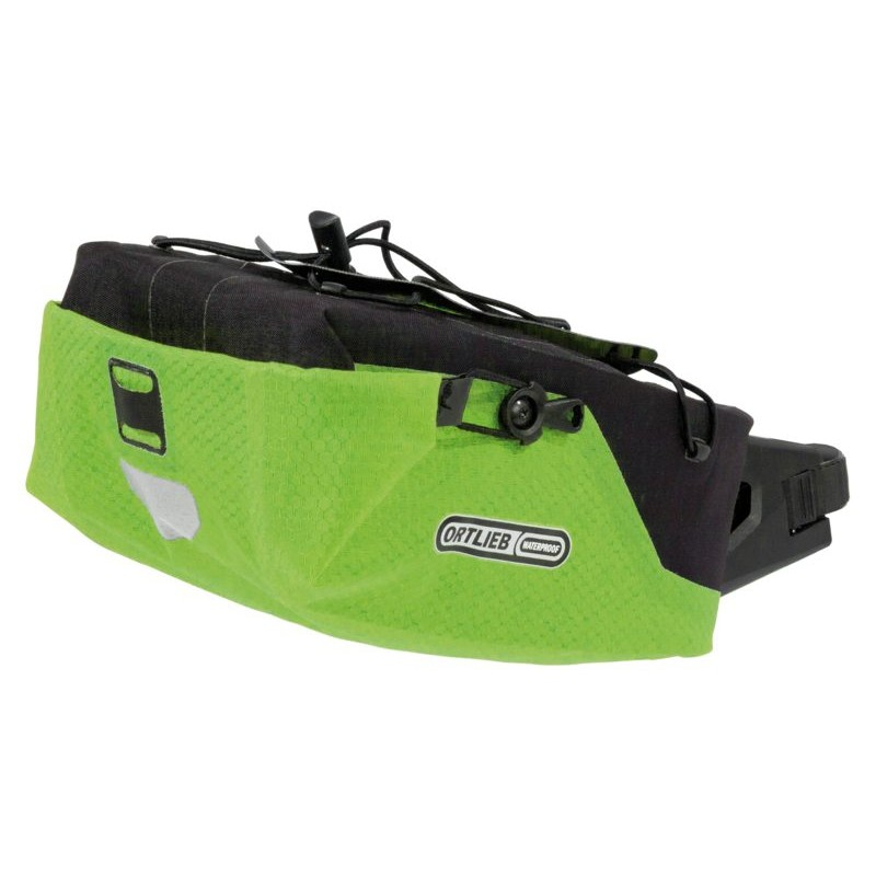Ortlieb Seatpost Bag M Lime Black 4l