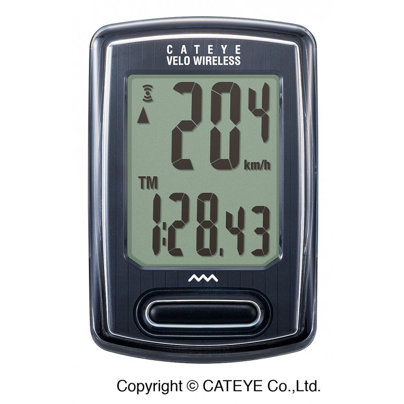 CatEye Velo Wireless CC-VT230W Czarny