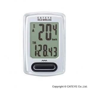 CatEye Velo Wireless CC-VT230W White