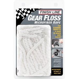 Sznurki Finish Line Gear Floss z mikrofibry