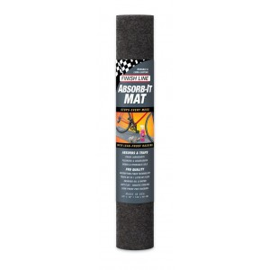 Finish Line Mat Absorbs