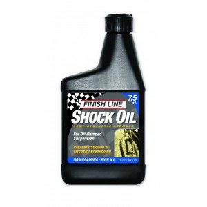 Finish Line Shock Oil 7.5 WT