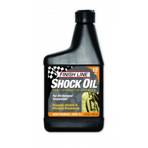 Finish Line Shock Oil 15 WT