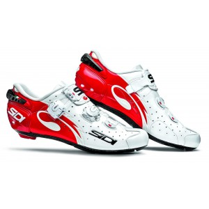 Sidi Wire Carbon White Red
