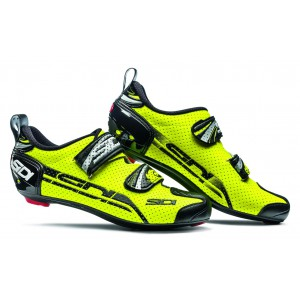 Sidi T-4 Air Carbon Composite Yellow-Black