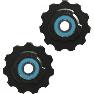Tacx Jockey Wheels Teflon Wheel Sram Race, Red, Force, Rival
