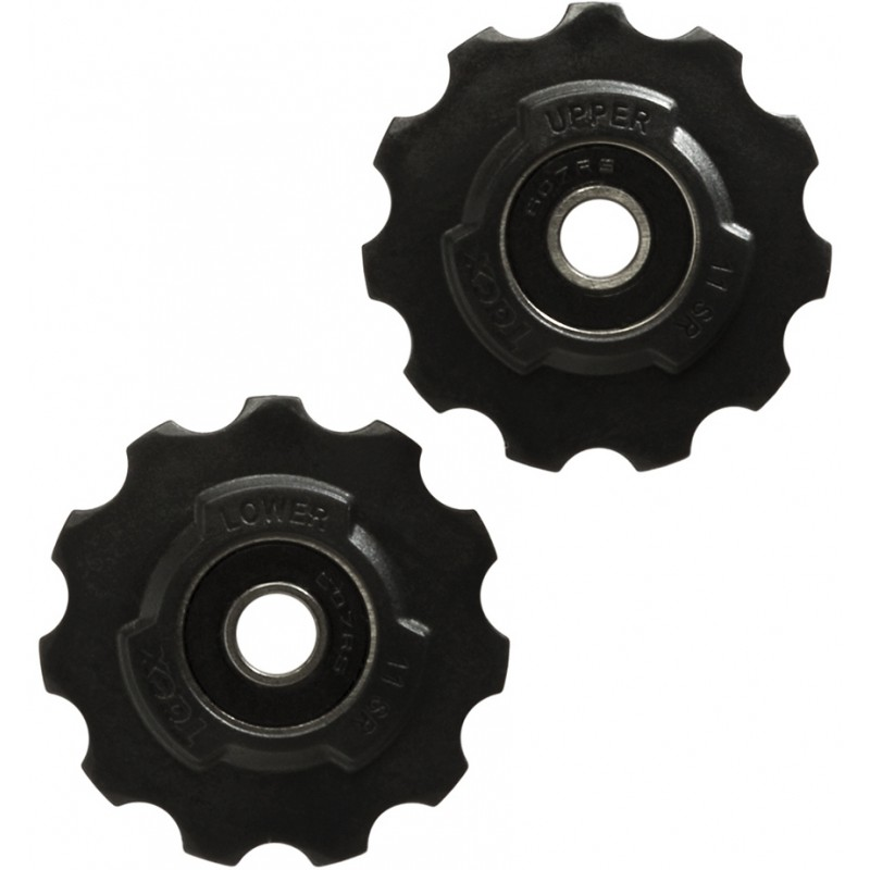 Tacx Jockey Wheels 11 Teeth SRAM Race, Red, Force, Rival
