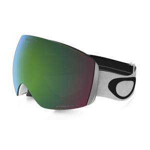 Oakley Flight Deck Matte White/Prizm Jade Iridium