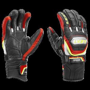 Leki Worldcup Race TI S Speed System black red